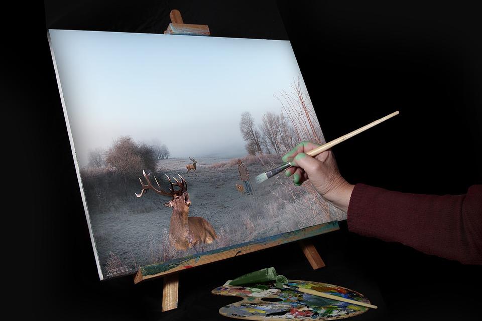 Art  :  Les objets de decoration (les tableaux)