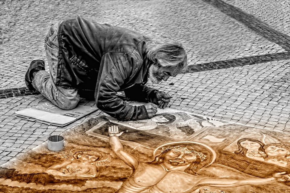L'art de la peinture comme gage des valeurs des sociétés vivantes.