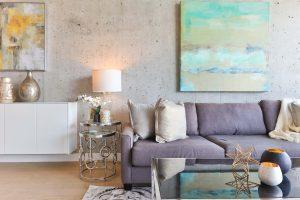 Une touche de peinture dans votre séjour :