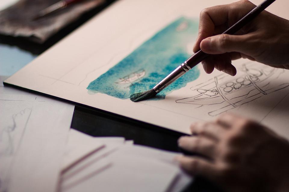 L'art de la peinture: expression à caractère personnelle de l'artiste