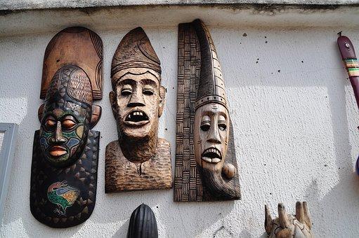 Les différents types de masques africains